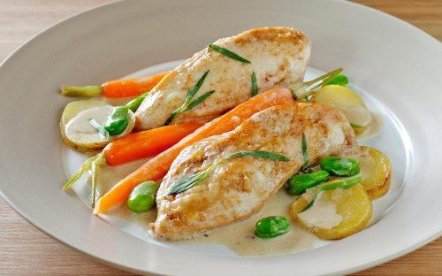 куриное филе в кефирном соусе - 02
