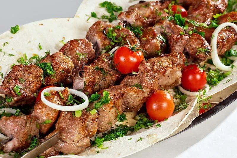 Рецепт шашлык по кавказски