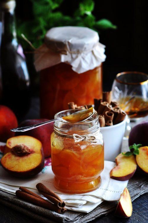рецепт пряного персикового варенья - 02