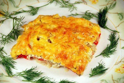 рыба запечённая с помидорами и сыром - 02