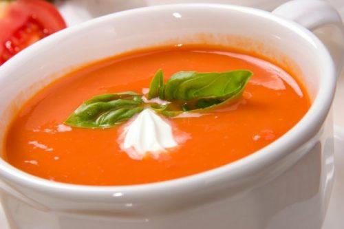 томатный крем-суп с острым перчиком