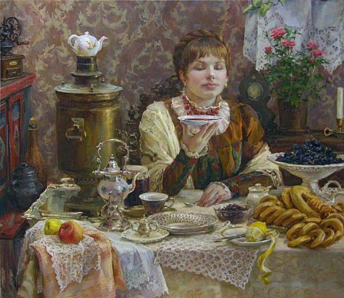русское чаепитие - 02